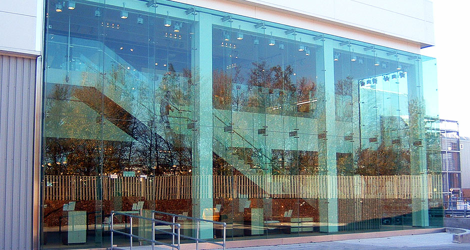 Structural Glass Panel Dimensions : Structural and bolted glass solutions from hansenthermospan